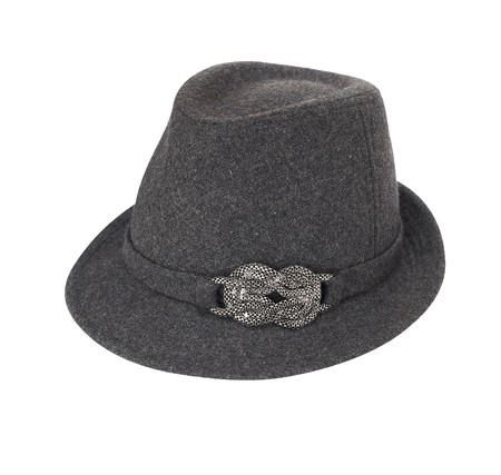 Glamour hat isolated on white background