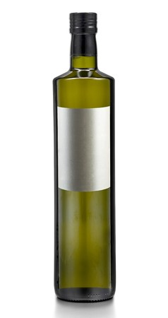 Bottle Blank of Pure Olive or Corn or Nut or Sunflower (Vegetable) oil photo