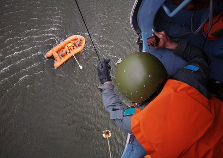 The Man Rescue People After Accident photo