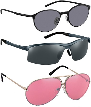 Different Sunglasses isolated on white background Stock Photo - 7971366