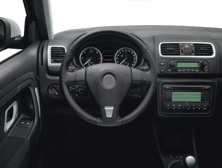 20th: Best of 20th Century Car Interior Stock Photo
