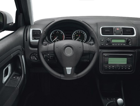 Best of 20th Century Car Interior Stock Photo