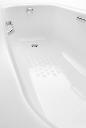 kád: white ceramic bath tub. It is isolated on white background.
