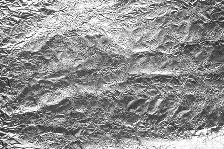Aluminum foil texture background photo