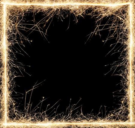 sparkler frame Stock Photo - 8582067