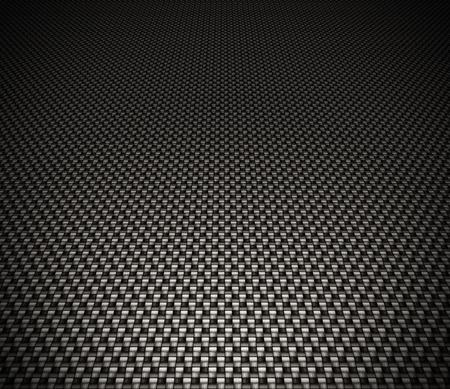Carbon fiber background, black texture photo