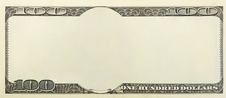 blank money background for design photo