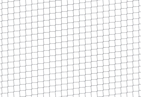 Chain Fence. Steel grid isolated on white Stock Photo - 8821668