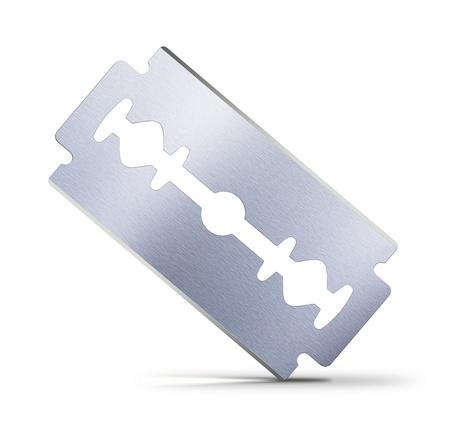blade on white background Stock Photo