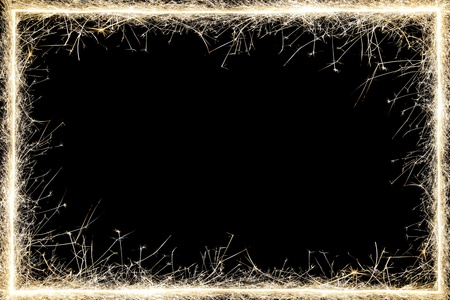 hot frame: sparkler frame.