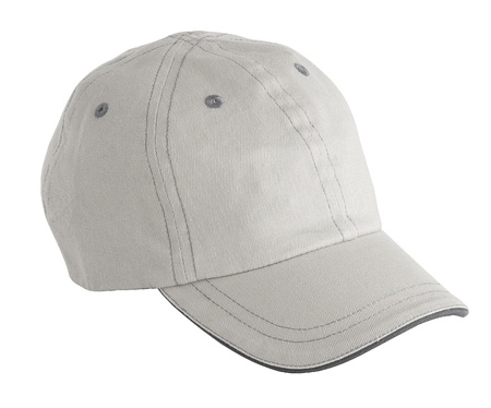 accesory: White cap  Stock Photo