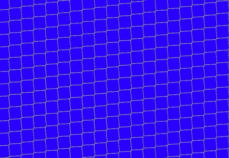 Chain Fence. Steel grid isolated on 255 blue (Easily to remove) Stock Photo - 8822918