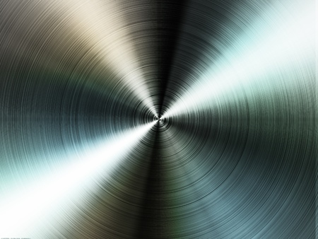High contrast brushed stainless steel texture.