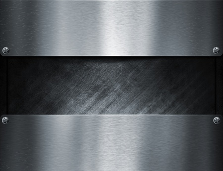 metal template background Stock Photo - 8823069