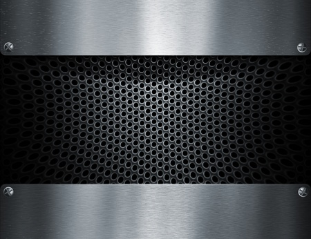 metal template background Stock Photo - 8823059