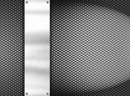 metal template background Stock Photo - 8823104