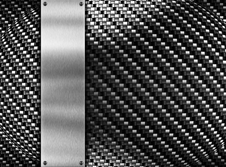 metal template background Stock Photo - 8823090