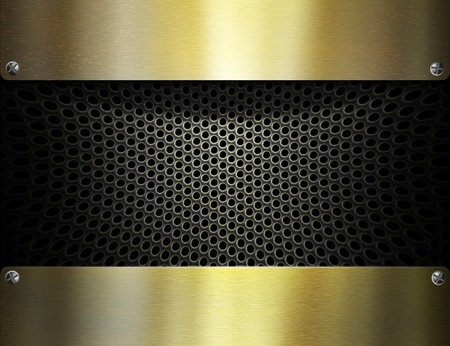 metal template background Stock Photo - 8823058