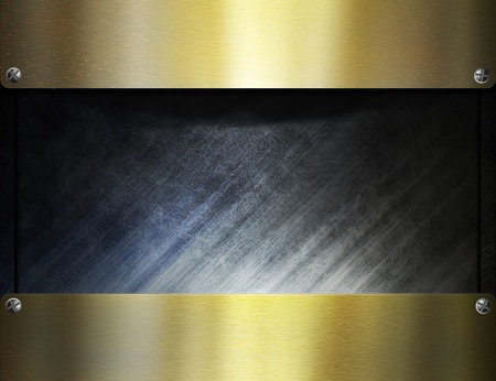 metal template background Stock Photo - 8823071