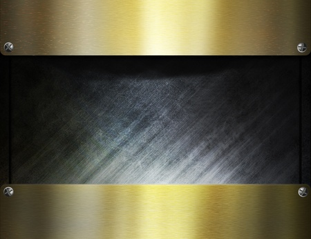 metal template background Stock Photo - 8823075
