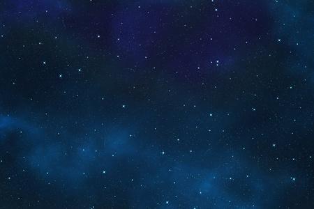 Starfield background Stock Photo