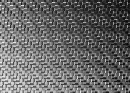 3d Carbon fiber background. Vector Illustration Stock Photo