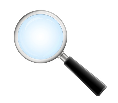 magnifying glass icon Stock Photo - 8822926