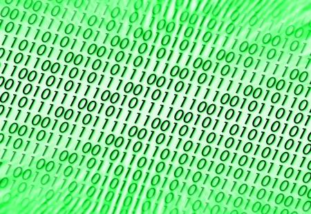 Binary code. Stock Photo - 8958920