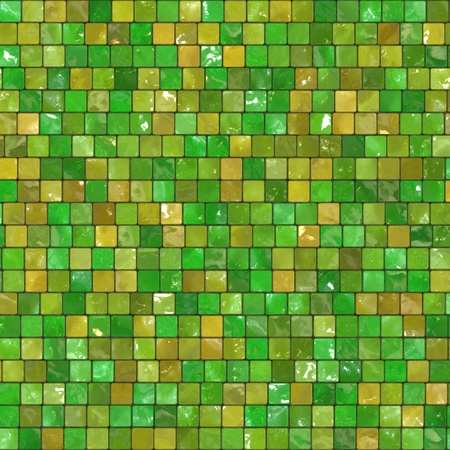 Ceramic Wall background - mosaic photo