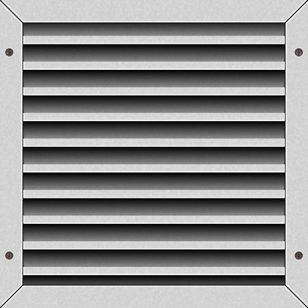 metal lattice: The ventilation lattice