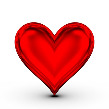 Red Heart! classical love symbol photo