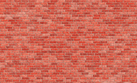 the red wall: Red brick wall Stock Photo