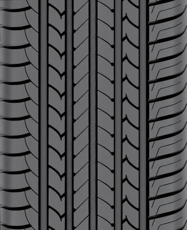 Car tire on white background. Tyre Cap for background photo