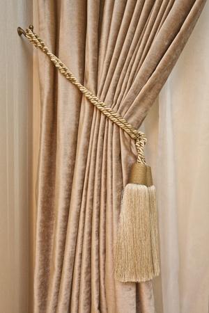 drape: Luxury curtain