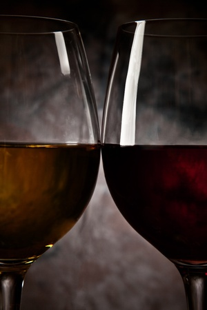 Two glass of wine photo