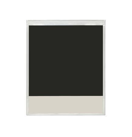 Many photos isolated on a white background photo