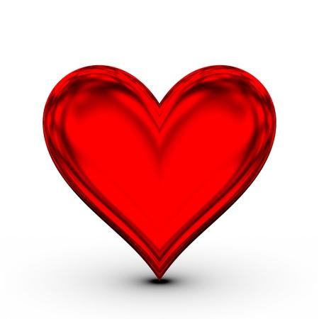 dangerous love: Cuore Rosso! amore simbolo classico