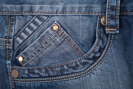 traditional clothes: texture jeans