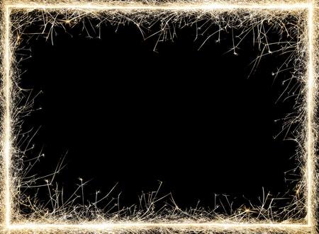 sparkler frame.