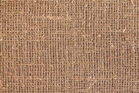 Close-up of natural burlap hessian sacking Stock Photo - 12975516