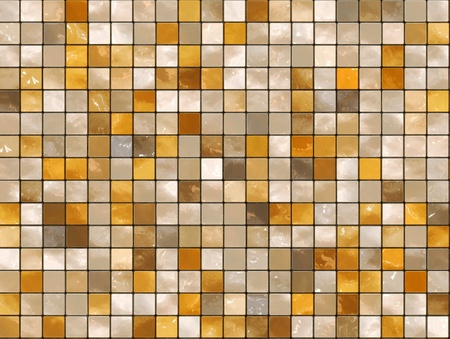 middle eastern ethnicity: Ceramic Wall background - mosaic