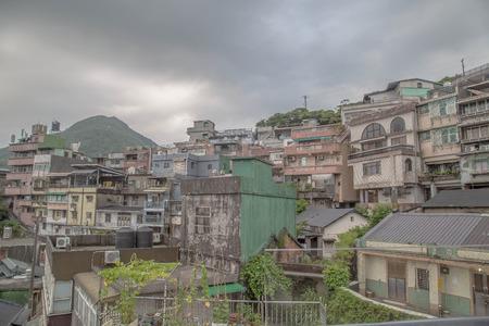 jiufen: Old buildings at Jiufen, Taiwan
