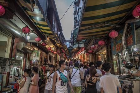 old street: Old street at Jiufen, Taiwan