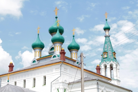 Church in Russian Revival architecture style Stock Photo