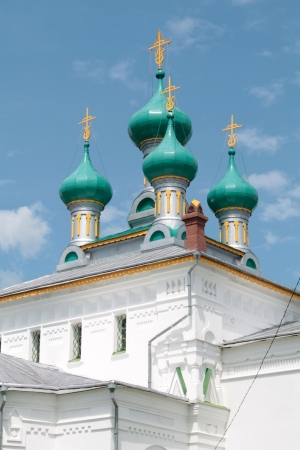 Church in Russian Revival architecture style 스톡 사진