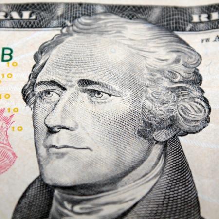 alexander hamilton: Alexander Hamilton su 10 dollari