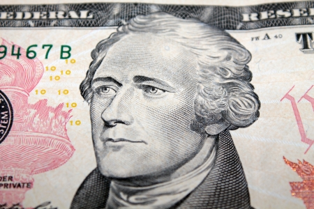 alexander hamilton: Alexander Hamilton a 10 dollari