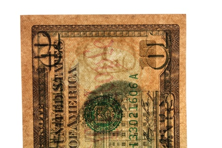 lucidity: Watermark on 10 dollars Stock Photo