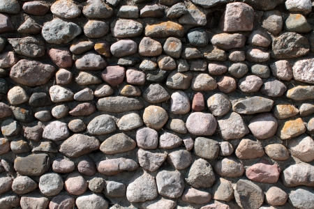 Wall of big stones background 스톡 사진