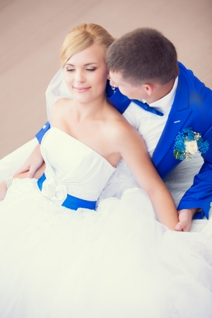 wedding: bride and groom photo